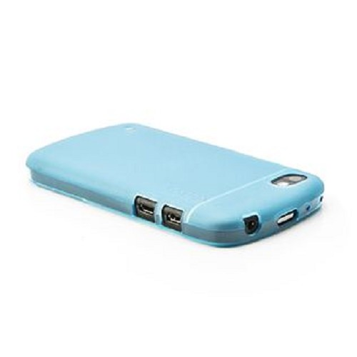 CAPDASE Soft Jacket for BB Q10 [SJBBQ10-P203-BB] - Tinted Blue - Casing Handphone / Case